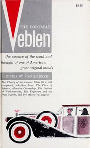 Cover of: The portable Veblen