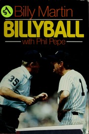 Cover of: Billyball | Billy Martin
