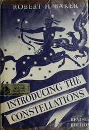 Cover of: Introducing the constellations