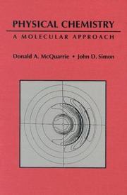 Physical Chemistry: A Molecular Approach
