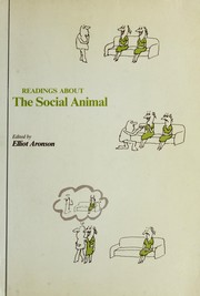 Cover of: Readings about the social animal. by Elliot Aronson