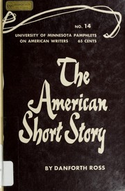 Cover of: The American short story