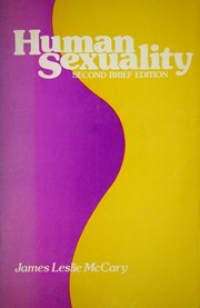 Human sexuality by James Leslie McCary