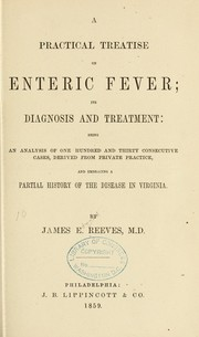 Cover of: A practical treatise on enteric fever