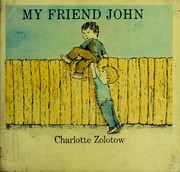 Cover of: My friend John