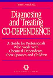 Diagnosing and Treating Co-Dependence by Timmen L. Cermak