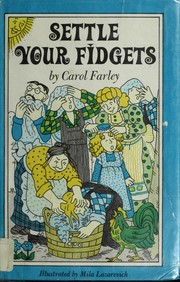 Cover of: Settle your fidgets