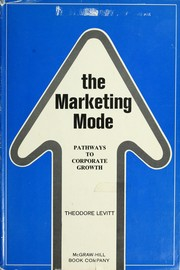 Cover of: The marketing mode