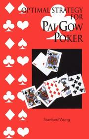 Optimal Strategy for Pai Gow Poker by Stanford Wong