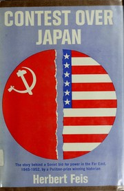 Cover of: Contest over Japan