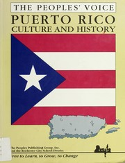 Cover of: Peoples Voice (Culture and History Puerto Rico)