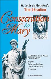 Cover of: Consecration to Mary