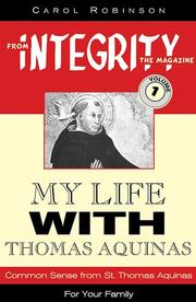 My life with Thomas Aquinas