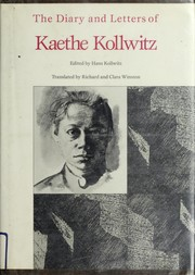 Cover of: The diary and letters of Kaethe Kollwitz