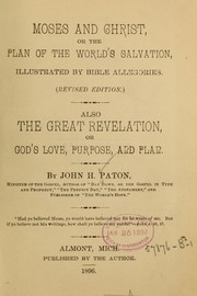 Cover of: Moses and Christ | John H. Paton