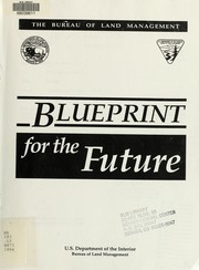 Cover of: Blueprint for the future