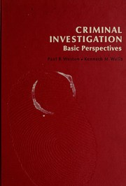 Cover of: Criminal investigation: basic perspectives