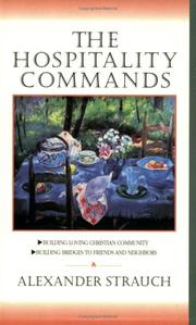 Cover of: The hospitality commands