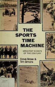 Cover of: The sports time machine