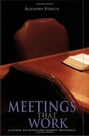 Cover of: Meetings That Work