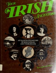 Cover of: Your Irish Ancestors, | J. Anderson. Black