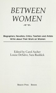 Cover of: Between women