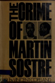 Cover of: The crime of Martin Sostre