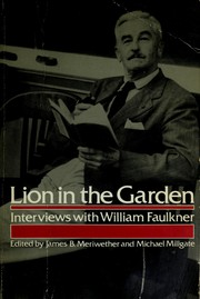 Cover of: Lion in the garden | James B. Meriwether