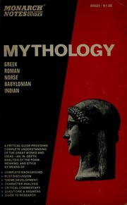 Cover of: Mythology. | Julia W. Loomis