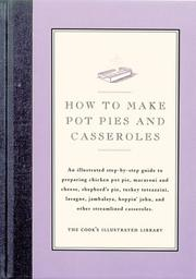 Cover of: How to Make Pot Pies and Casseroles | Cook