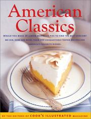 Cover of: American Classics | Editors of Cook