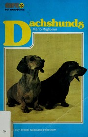 Cover of: Dachshunds | Mario Migliorini