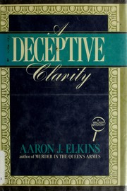 Cover of: A deceptive clarity