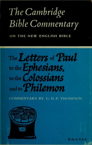 an analysis of pauls letter to the ephesians