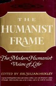 Cover of: The humanist frame