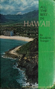 Cover of: All the best in Hawaii | R. M. Younger