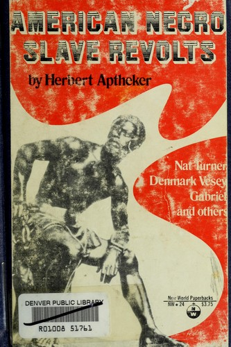 American Negro slave revolts