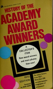 Cover of: History of the Academy award winners | Nathalie Fredrik