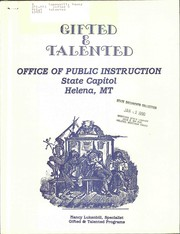 Cover of: Gifted & talented