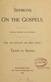 Cover of: Sermons on the gospels |