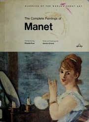 Cover of: The Complete Paintings of Manet