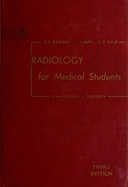 Cover of: Radiology for medical students