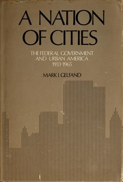 Cover of: A nation of cities