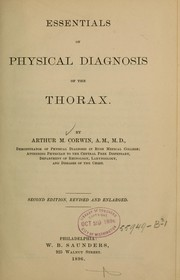 Cover of: Essentials of physical diagnosis of the thorax