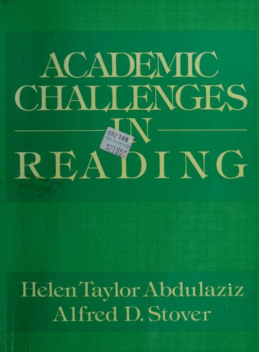 Academic challenges in reading by Helen Taylor Abdulaziz