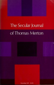 Cover of: A secular journal