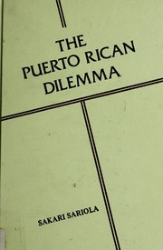 Cover of: The Puerto Rican dilemma