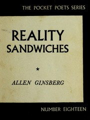 Cover of: Reality Sandwiches, 1953-60