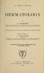 Cover of: A text-book of dermatology