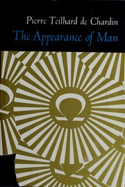 Cover of: The appearance of man